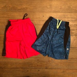 Champion and BCG Boys Athletic Shorts Size 6/7